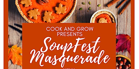 Soupfest Maskquerade at Peacock Alley tickets
