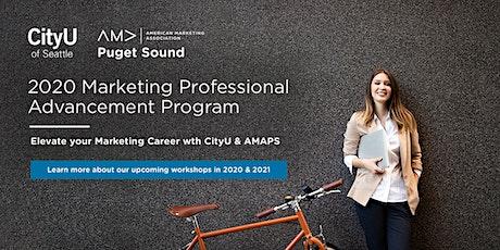 CityU & AMA Professional Marketing Workshops tickets