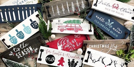 DIY Holiday Tray with A/R Workshop! tickets