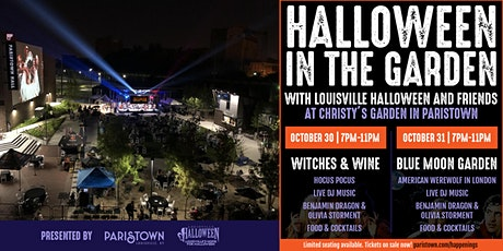 Halloween in the Garden with Louisville Halloween & Friends tickets