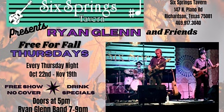 Free For Fall with Ryan Glenn and Friends with special guest Dustin Brown tickets
