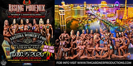 Rising Phoenix WBB World Championship & Arizona Women's Pro-Am (IFBB & NPC) tickets