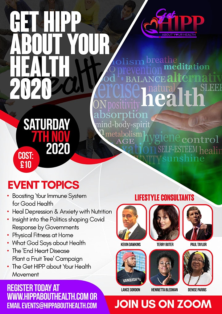 Get HIPP About Your Health 2020 image