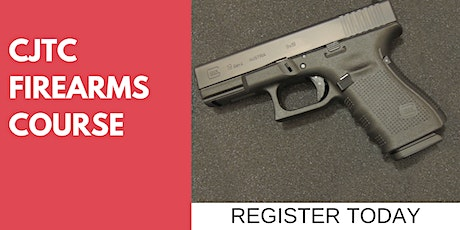 CJTC Firearms Certfication Course tickets