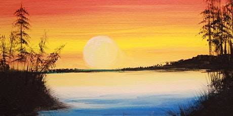 Chill & Paint Sat Night  Auck  City  -  Golden Sunset tickets