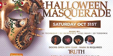 HALLOWEEN MASQUERADE DAY PARTY tickets
