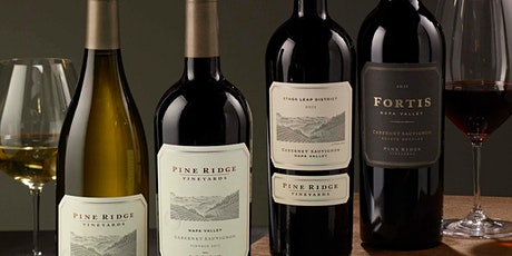 Pine Ridge Vineyards VIRTUAL TASTING & Waterfall Canyon Hike! tickets