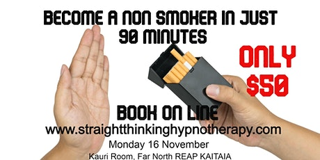 Become a non smoker in 90 minutes tickets