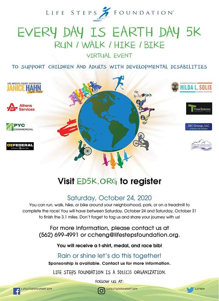 Every Day is Earth Day 5k image