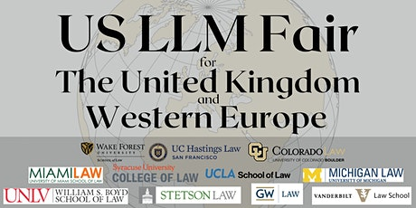 US LL.M. Fair for the UK and Western Europe tickets