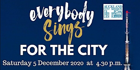 Everybody Sings - For The City tickets