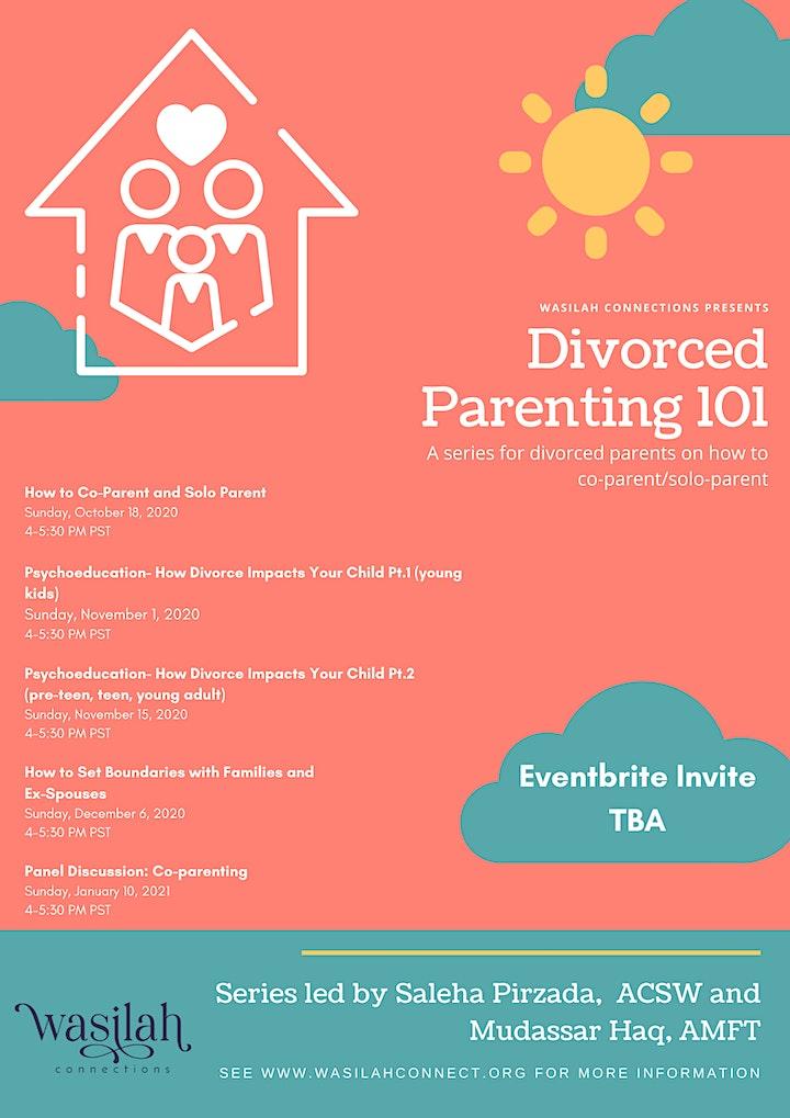 Divorced Parenting 101 image