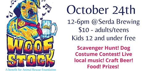 Woofstock (Covid edition + scavenger hunt) tickets