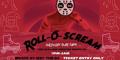 Roll-O-Scream Skate Party tickets