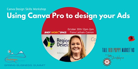 Using Canva Pro to design your business ads - tickets