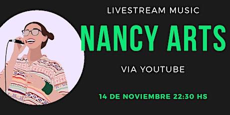 Nancy Arts Livestream biglietti