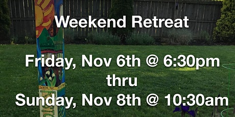 Weekend Retreat with Colleen Linhart  Nov 6-8, 2020 tickets