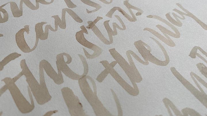 Imagen de Letras a Pincel Redondo con Ale Grau
