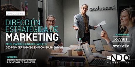 Taller de Dirección Estratégica de Marketing para Emprendedores boletos