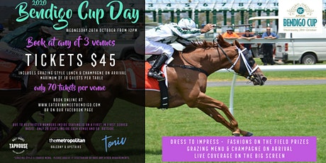 Bendigo Cup at the Malt Shovel Taphouse Bendigo tickets