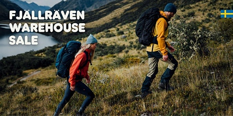 Fjällräven Warehouse Sale tickets