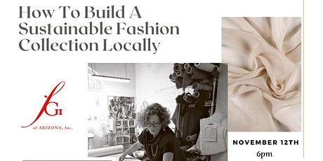 How to Build a Sustainable Fashion Collection Locally  with Laura Tanzer tickets