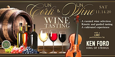 unCork and unWine : The Virtual Experience tickets