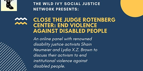 Close the Judge Rotenberg Center: End Violence Against Disabled People tickets