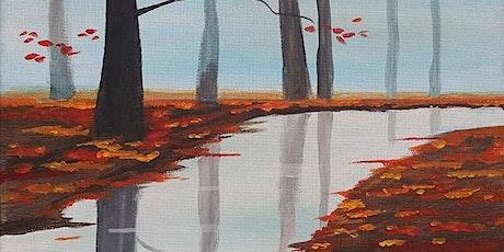 "Paint and Sip - ""Autumn Stream"" Gaslamp San Diego tickets"