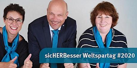 sicHERBesser Weltspartag #2020 - Aktionstag zum Thema Sparen Tickets