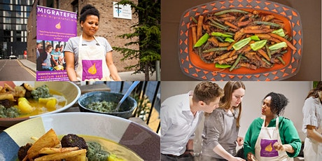 Vegan African Cuisine cookery course with Helen, Kay, Woin and Kashi