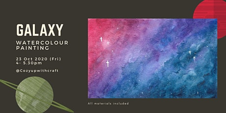 Galaxy Watercolour Painting for Beginners tickets