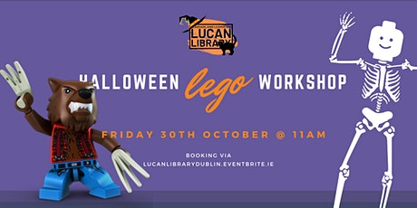 Halloween Lego Workshop tickets
