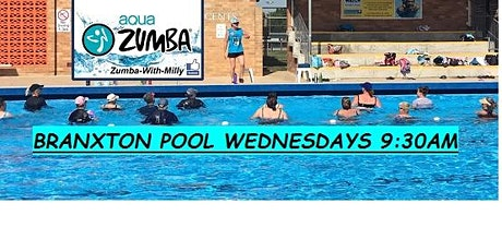 Aqua Zumba at Branxton Pool tickets