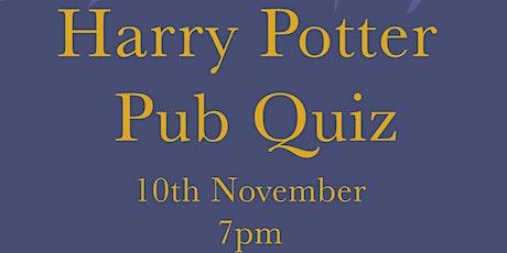Harry Potter Pub Quiz tickets