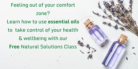 FREE Natural Solutions class tickets