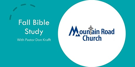 Fall Bible Study tickets