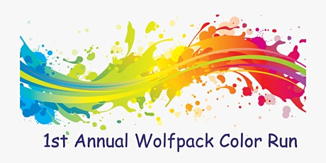 1st Annual Wolfpack Color Run tickets