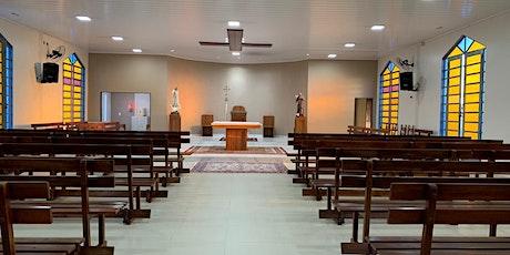 Santa Missa Presencial - Paróquia São Francisco de Assis - Tororó billets