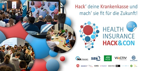HEALTH INSURANCE HACK&CON VOL.3 - Krankenkassen-Hackathon & Konferenz Tickets