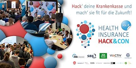 HEALTH INSURANCE HACK&CON VOL.3 - Krankenkassen-Hackathon & Konferenz billets