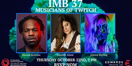 IMB #37 - Musicians of Twitch tickets