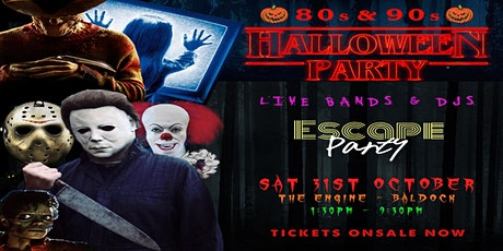 80s & 90s Halloween Party tickets