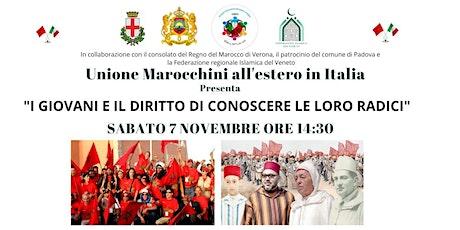 I GIOVANI E IL DIRITTO DI CONOSCERE LE LORO RADICI tickets