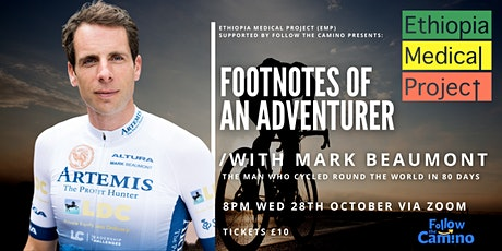Footnotes Of An Adventurer with: Mark Beaumont tickets