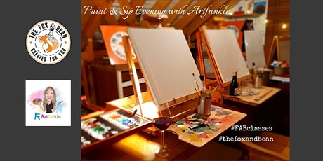 Paint & Sip Evening with Artfunkle tickets