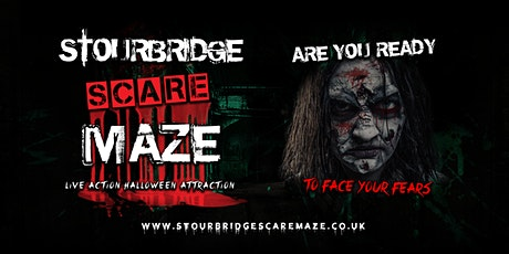 Stourbridge Scare Maze tickets