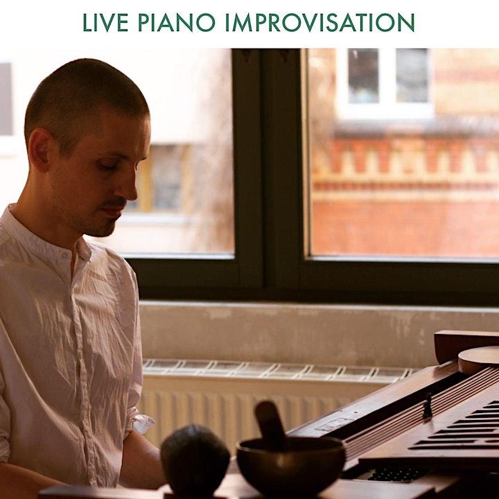 Online KAKAOPHONIE  -  Yoga, Kakao und Klavier: Bild