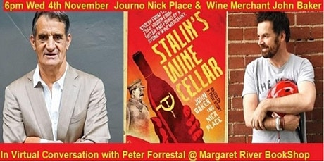 Virtual Author Talk - Authors Nick Place & John Baker with Peter Forrestal tickets