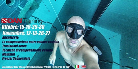 Freediving Training @ Y-40 biglietti